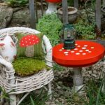 Fairy garden figurine set