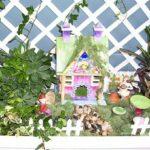 Inspiration indoor fairy house