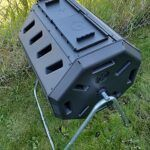 How to Make a Garden Compost turning bin