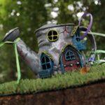Fairy Gardens are Perfect for Small Garden Landscaping teapot accessorySmall Garden Landscape Design Ideas ❀ Fairy Circle Garden