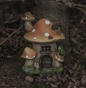 Fairy Gardens are Perfect for Small Garden Landscaping fairy houseSmall Garden Landscape Design Ideas ❀ Fairy Circle Garden