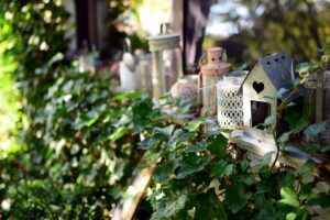 Fairy Gardens are Perfect for Small Garden Landscaping decorated windowsillSmall Garden Landscape Design Ideas ❀ Fairy Circle Garden