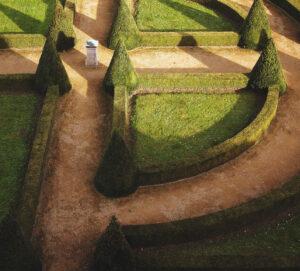 Garden design ideas clean lines