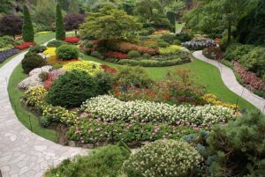 Garden design ideas - flow