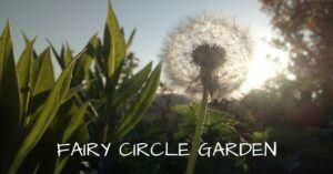 FAIRY CIRCLE GARDEN HOME IMAGE 1 DANDELION