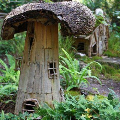 Outdoor Fairy Garden Ideas – Yard Magic!❀Fairy Circle Garden