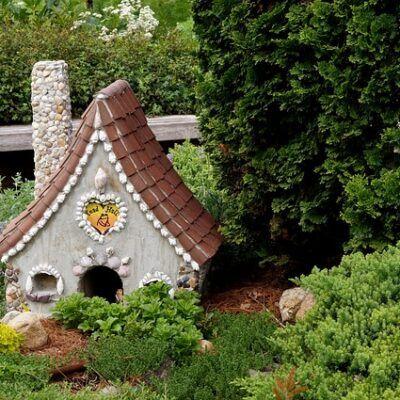 outdoor fairy garden ideas dwellingOutdoor Fairy Garden Ideas – Yard Magic!❀Fairy Circle Garden