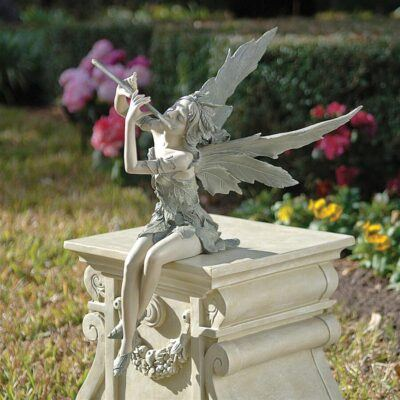 Fairy of the West Wind Sitting